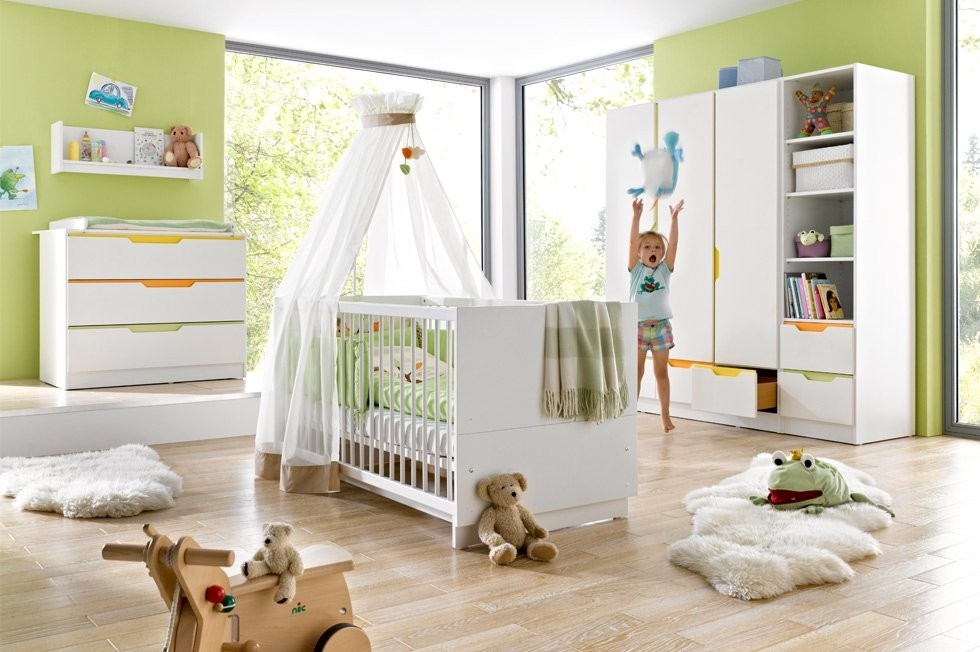 Fresh babyzimmer set von geuther bei panda kinderm bel for Deckenlampen kinderzimmer jugendzimmer