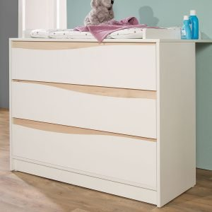 Wave Natur Babyzimmer Wickelkommode