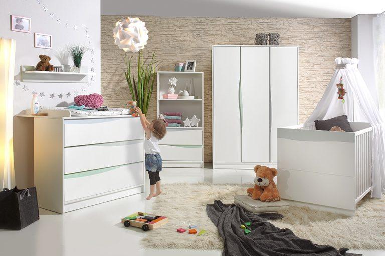 Wave Pastell Babyzimmer Set Von Geuther Bei Panda Kindermobel