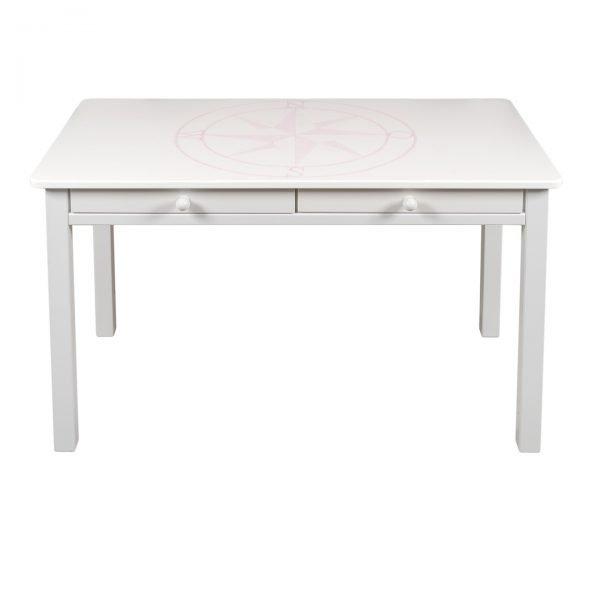 schreibtisch windrose rosa von isle of dogs bei panda kinderm bel. Black Bedroom Furniture Sets. Home Design Ideas