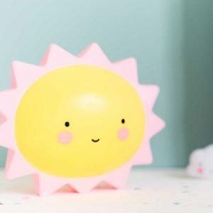 Dekolampe Sonne