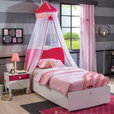 Yakut Bett mit Stauraum (100x200cm)
