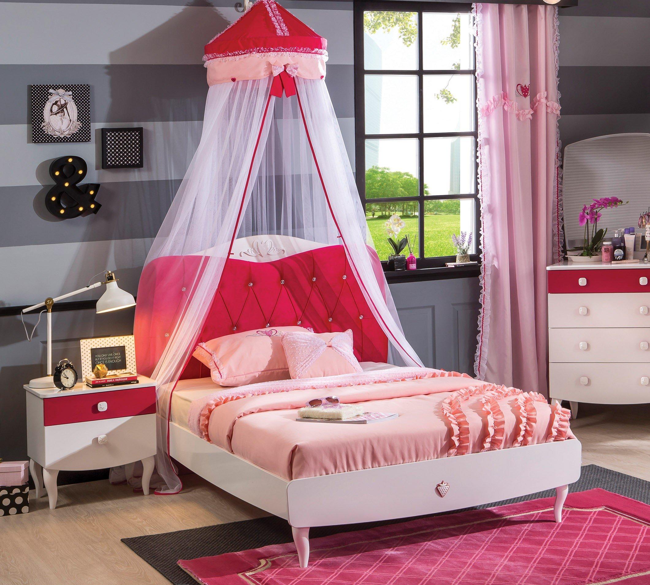 cilek yakut 120er bett extra breites sch nes jugendbett. Black Bedroom Furniture Sets. Home Design Ideas