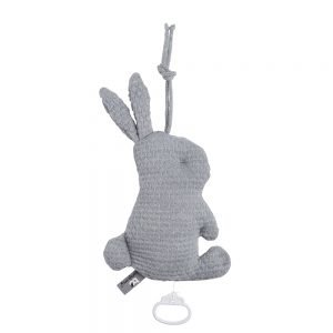 Spieluhr Kaninchen Cloud Grau