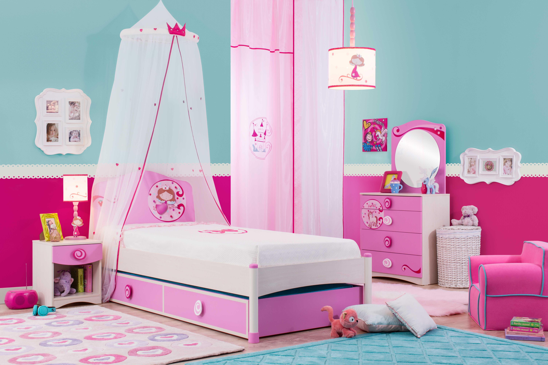 princess zimmer set wundervolles prinzessinnen zimmer. Black Bedroom Furniture Sets. Home Design Ideas