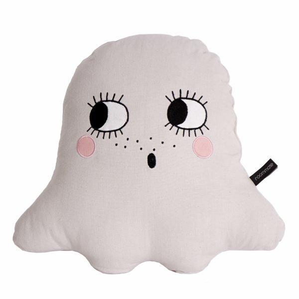Kinderkissen Ghost weiss