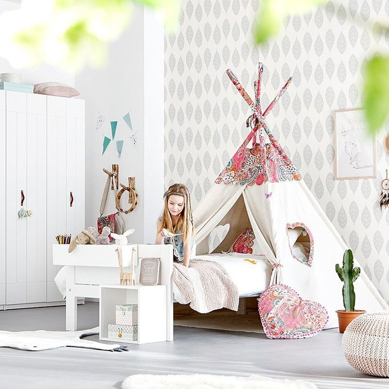 tipizelt pocahontas f r coole m dchen panda kinderm bel. Black Bedroom Furniture Sets. Home Design Ideas