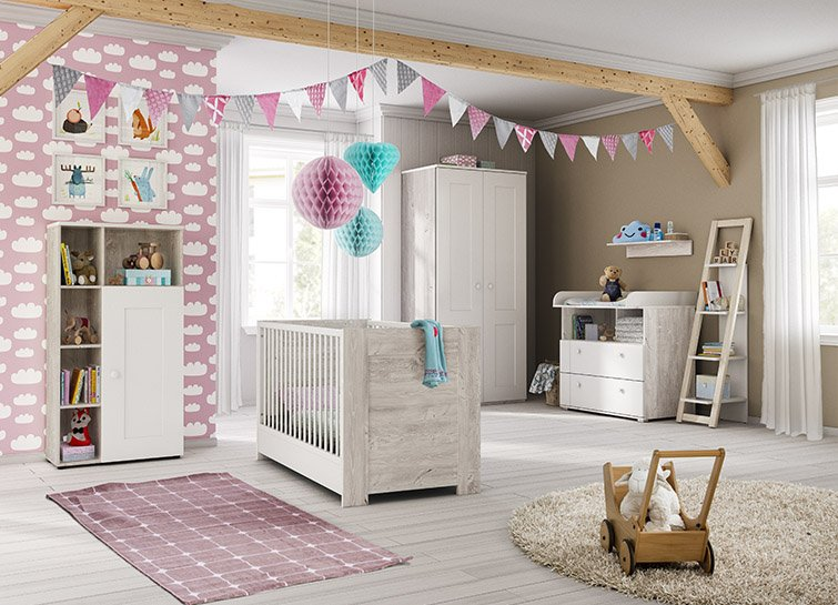 panda kinderm bel die top babyzimmer sets 2018. Black Bedroom Furniture Sets. Home Design Ideas