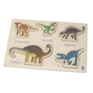 Holzpuzzle Dino