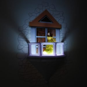 Belle Prinzessin Wandlampe 3D