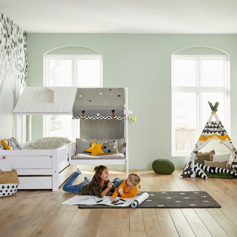 panda kinderm bel helles kinderzimmer im skandinavischen stil. Black Bedroom Furniture Sets. Home Design Ideas