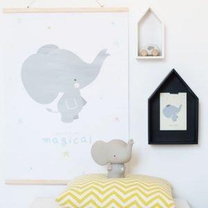 Spardose Grauer Elefant