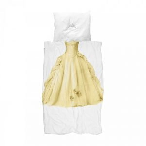 Snurk Bettwäsche Prinzessin Gelb