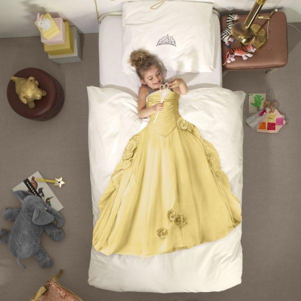 Snurk Bettwäsche Prinzessin Gelb Bei Panda Kindermöbel