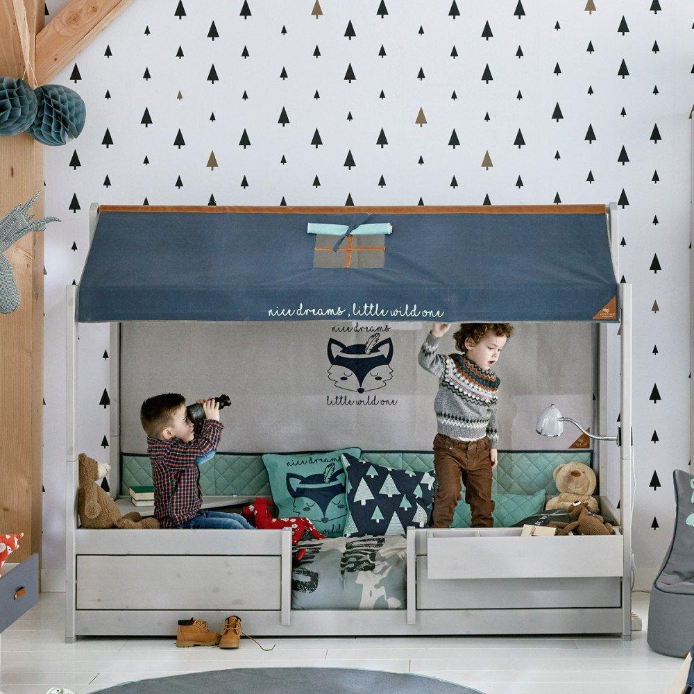 coole r ckwand forest ranger f r das 4 in 1 bett von lifetime. Black Bedroom Furniture Sets. Home Design Ideas