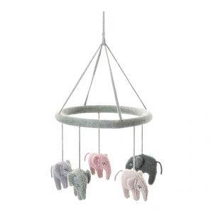 Mobile mit Elefanten