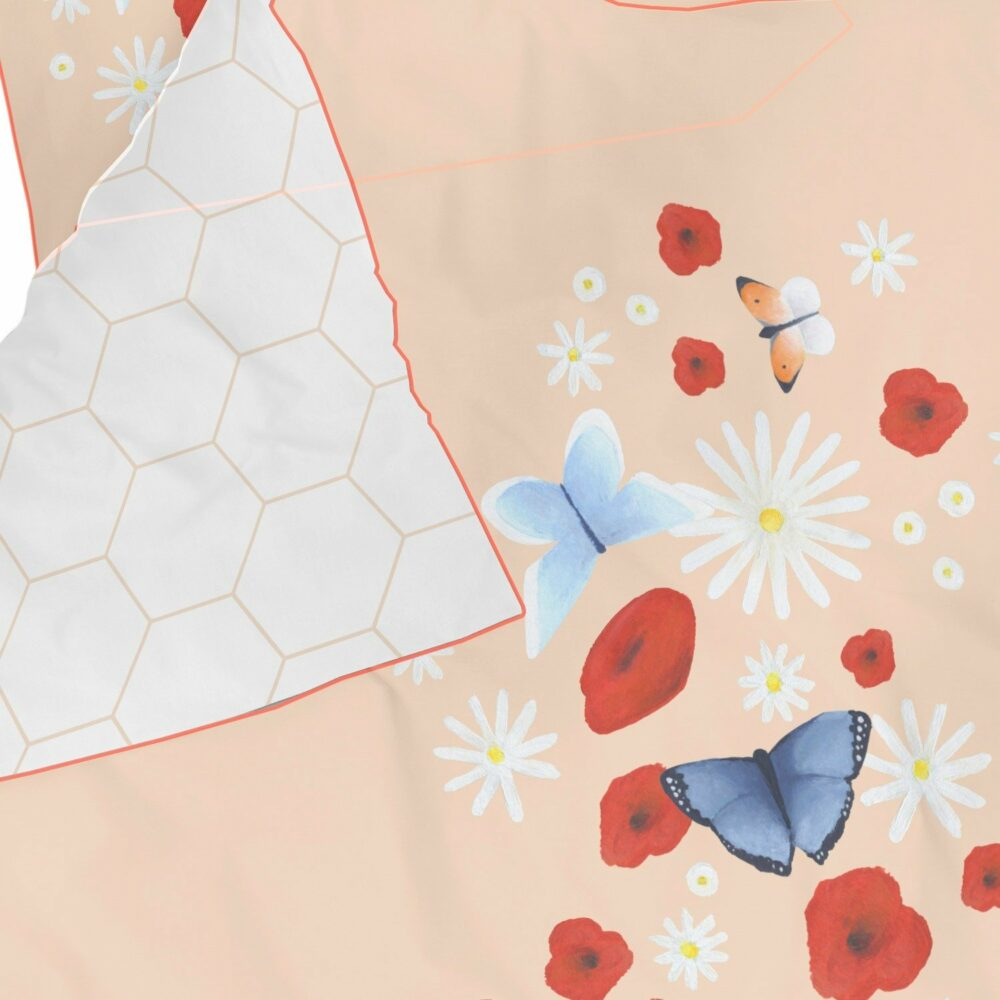 Bettwäsche Butterfly Love