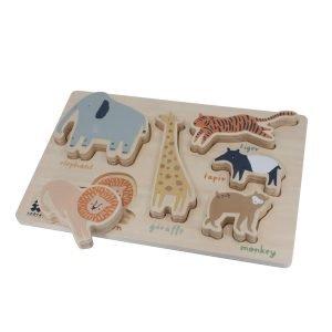 Holzpuzzle Wildlife