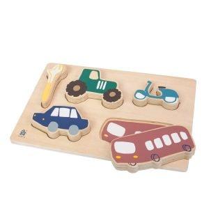 Holzpuzzle Little Driver