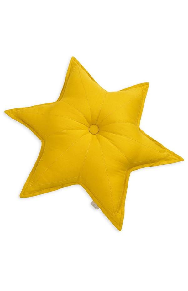 Sternkissen Gelb