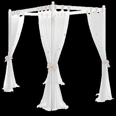 Rustik Himmelbettaufsatz (100x200cm)