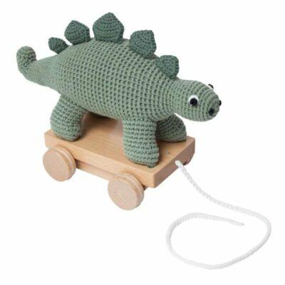 Häkel-Nachziehtier, Dino
