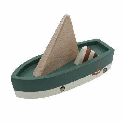 Sebra Segelboot aus Holz