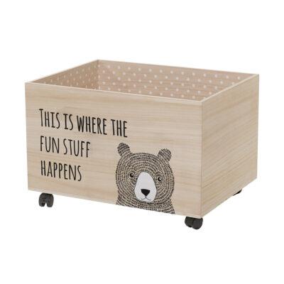 Spielzeugkiste Bär