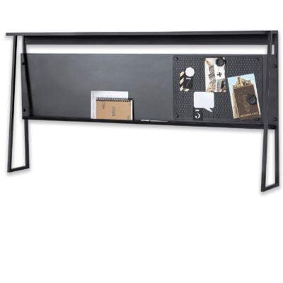 Schreibtischaufsatz Dark Metal Line