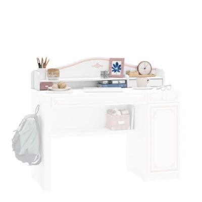 Schreibtischaufsatz Selena Pink Klein