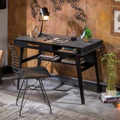 Schreibtisch Dark Metal Line