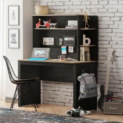 Schreibtischaufsatz Black Line