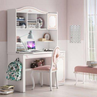 Schreibtischaufsatz Selena Pink Gross