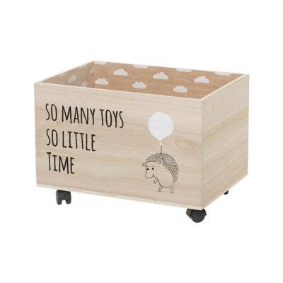 Spielzeugkiste Igel