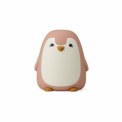 Dekolampe Pinguin Rosa