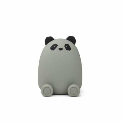 Spardose Panda Grau