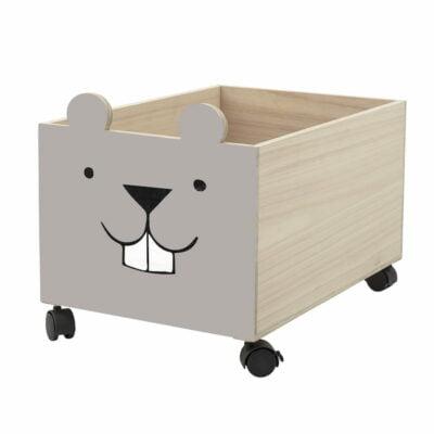 Spielzeugkiste Hase